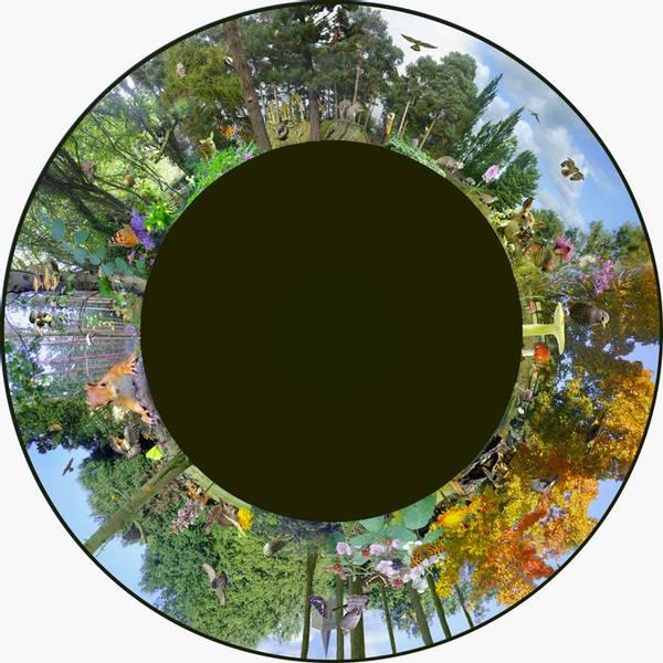 Solar max effekthjul woodland