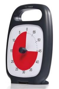 Bilde av Time Timer Plus bordmodell svart