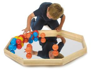 Bilde av Balanseringsspeil med baller